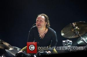 Lars Ulrich Metallica performing live at the SuperBock SuperRock 2007 held at Parque Tejo Lisbon, Portugal - 28.06.07