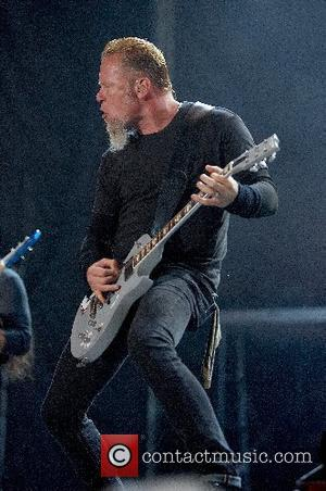 James Hetfield Metallica performing live at the SuperBock SuperRock 2007 held at Parque Tejo Lisbon, Portugal - 28.06.07