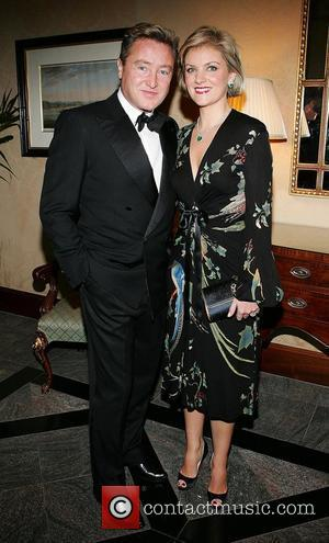 Michael Flatley and Niamh Flatley at the Four Seasons Hotel where Michael Flatley was presented with the Variety Club of...