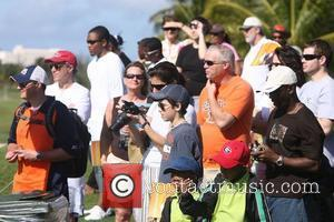 Atmosphere at the Michael Jordan Celebrity Invitational at the One&Only Ocean Club golf course on Paradise Island in the Bahamas...