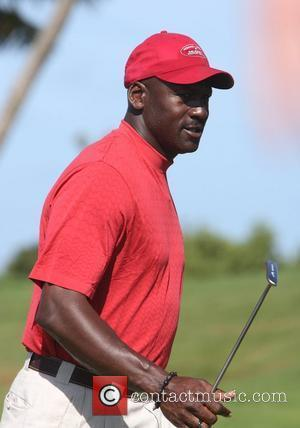 Michael Jordan Michael Jordan Celebrity Invitational held at the One & Only Ocean Club golf course - Day Three Paradise...