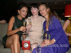 Verona Pooth and friends Michalsky Fashion Show Party at restaurant Grill Royal Berlin, Germany - 14.07.07,