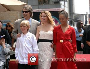 Michelle Pfeiffer, David E Kelley and family Michelle Pfeiffer receives the 2,345th Star on the Hollywood Walk of Fame. Hollywood,...