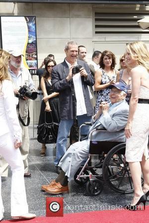 Jeff Bridges, Johnny Grant and Michelle Pfeiffer