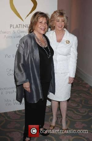 Wallis Annenberg and Mary Murphy The Midnight Mission honouring TV Guide's Mary Murphy and LA Times' Steve Lopez with the...
