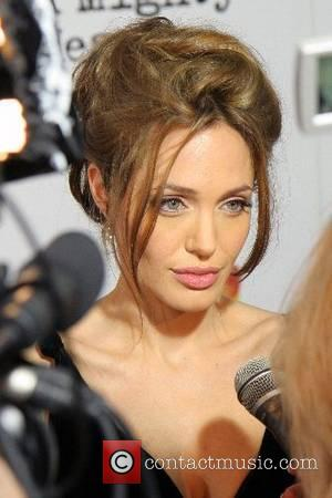 Angelina Jolie New York Premiere of 'A Mighty Heart' held at the Ziegfeld Theatre - Arrivals New York City, USA...