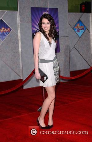 Miley Cyrus Film premiere Walt Disney Pictures 'Hannah Montana and Miley ...