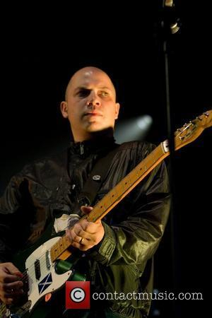 Stuart Braithwaite and Mogwai