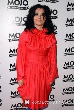 Bjork Mojo Honours List - Arrivals London, England - 18.06.07