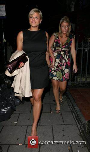 Jade Goody and friend,  More Magazine Party held at Eve nightclub - Departures London, England - 09.10.07