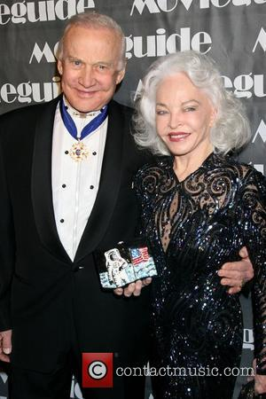 Buzz Aldrin, Lois Aldrin, Movieguide Faith And Value Awards 2008 and Beverly Hilton Hotel