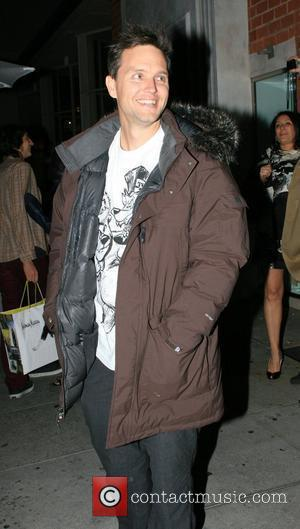 Mark Hoppus Leaves Mr Chow restaurant after dinner.  Los Angeles, California - 15.11.07