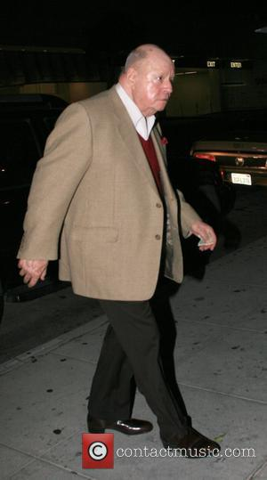 Don Rickles Arrives at Mr Chow restaurant. Beverly Hills, California - 20.11.07