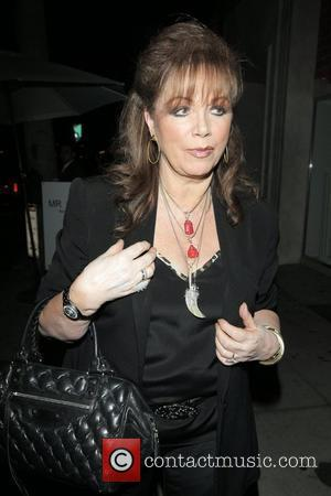 Jackie Collins arriving at the Mr Chow restaurant Beverly Hills, California - 22.05.08