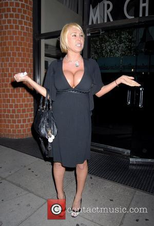 Mary Carey leaving Mr Chow restaurant.The adult movie actress was in high spirits, showing off her sobriety chips to the...