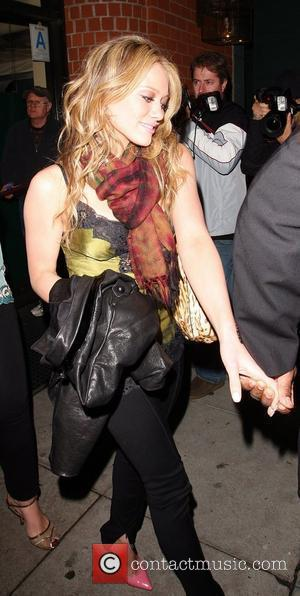 Hilary Duff leaving Mr Chows Los Angeles, California - 22