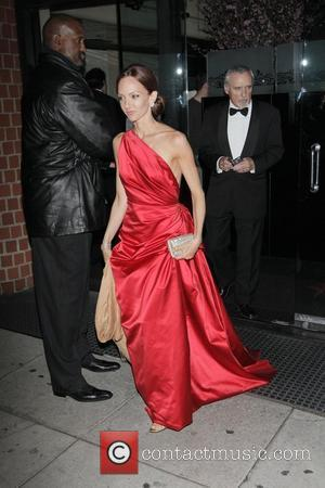 Dennis Hopper and Victoria Duffy leaving the Mr Chows restaurant. Beverly Hills, California - 24.02.08