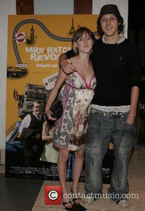 Jonothan Dixon and Emma Edmondson Mrs Radcliffes Revolution premiere at The Vue Cinema, The light Leeds, England - 23.09.07