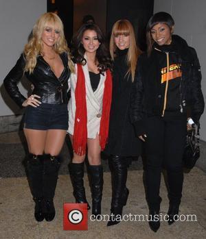 Danity Kane leaving MTV TRL studios New York City, USA - 04.02.08