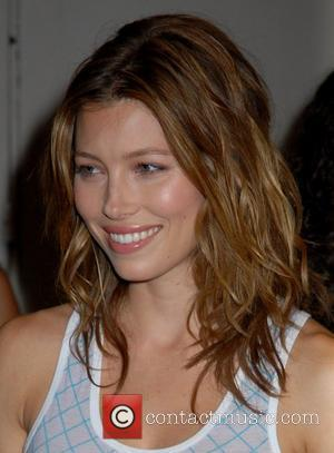 Jessica Biel outside MTV TRL Studios in Times Square New York City, USA - 16.07.07