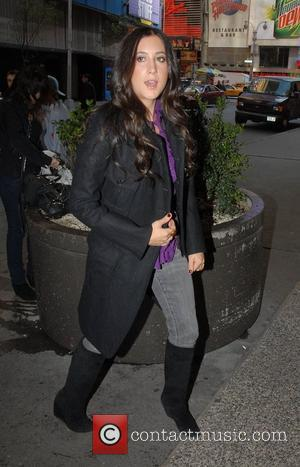 Vanessa Carlton outside MTV TRL Studios in Times Square New York City, USA - 15.10.07