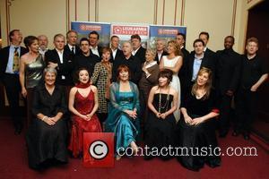 Kenneth Branagh, Dame Judi Dench, Alan Rickman, Celia Imrie, Imelda Staunton, Richard E Grant, Robbie Coltrane, Patrick Doyle and daughters,...