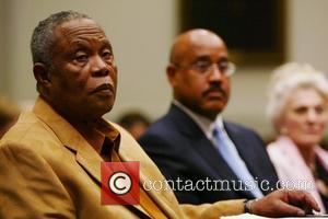 Sam Moore Grammy award-winning artists Judy Collins and Sam Moore testified in front of the US House Judiciary Subcommittee on...