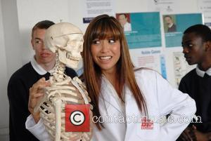 Myleene Klass  launches a campaign to rescue the future of British science to mark the launch of new television...