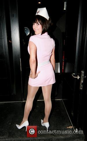 Lisa Scott Lee Myleene Klass celebrates her 30th birthday at Vanilla London, England - 05.04.08