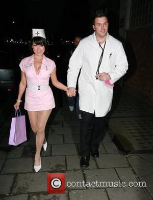 Lisa Scott Lee and Johnny Shentall Myleene Klass celebrates her 30th birthday at Vanilla London, England - 05.04.08