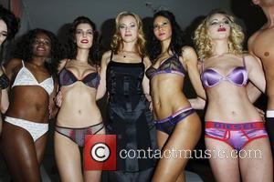 Kristanna Loken, models MylifE Charity Dinner & Fashion Show at the Bangaluu Club Berlin, Germany 31.01.08