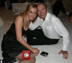 Kristanna Loken, her father Chris MylifE Charity Dinner & Fashion Show at the Bangaluu Club Berlin, Germany 31.01.08