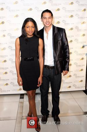 Naomie Harris and Rodney Chee-a-Tow of Chopard Bahamas at the 4th Annual Bahamas International Film Festival on Tuesday, December 11,...