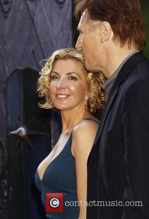 Natasha Richardson and Liam Neeson New York premiere of 'The Chronicles of Narnia: Prince Caspian' at the Ziegfeld Theatre New...