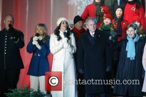 Sara Evans and George W Bush