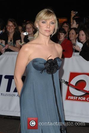 Samantha Janus National Television Awards held at the Royal Albert Hall - Arrivals London, England - 31.10.07