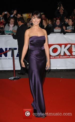 Emma Barton National Television Awards held at the Royal Albert Hall - Arrivals London, England - 31.10.07