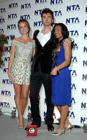 David Tennant, Freema Agyeman and Amanda Holden National Television Awards held at the Royal Albert Hall - Press Room London,...