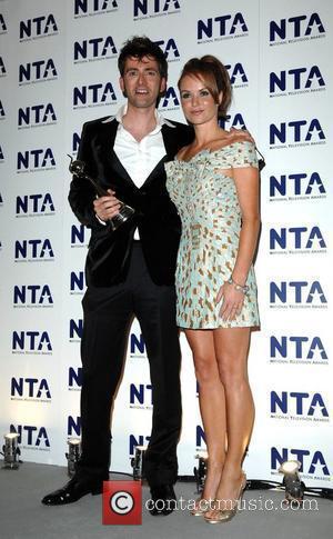 David Tennant and Amanda Holden