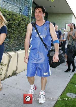 Dean Cain leaving the NBAE all-star basketball game in Santa Monica Los Angeles, California - 12.04.08