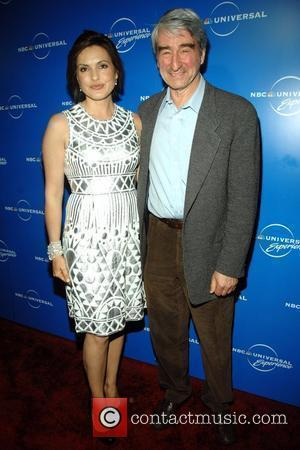 Mariska Hargitay, Sam Waterson The NBC Universal Experience - Arrivals  held at Rockefeller Plaza New York City, USA 12.05.08