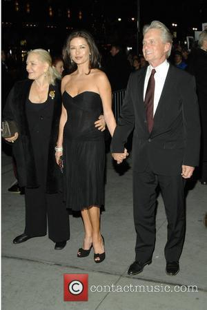 Lauren Bacall, Michael Douglas, Catherine Zeta Jones 2008 National Board of Review Awards at Cipriani - Outside Arrivals New York...