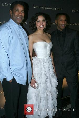 Denzel Washington and Jurnee Smollett
