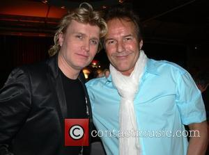 Hans Klok, his boyfriend Frank Gutteling Aftershow-party for the TV show Willkommen bei Carmen Nebel at the Hotel Ellington Berlin,...