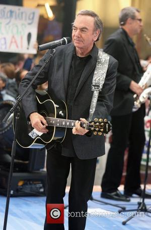 Rockefeller Plaza, Neil Diamond, NBC