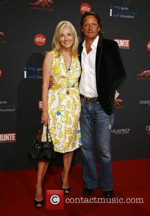 Frauke Ludowig and husband Kai Roeffen Bunte New Faces Award held at the Rheinterassen Duesseldorf, Germany - 23.07.07