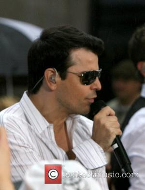 Jordan Knight New Kids on the Block reunite to perform live on 'The Today Show Concert Series' at Rockefeller Plaza...