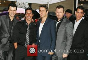 Jordan Knight, Donnie Wahlberg and New Kids On The Block