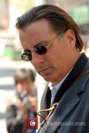 Andy Garcia on the film set of 'New York, I Love You' New York City, USA - 18.04.08