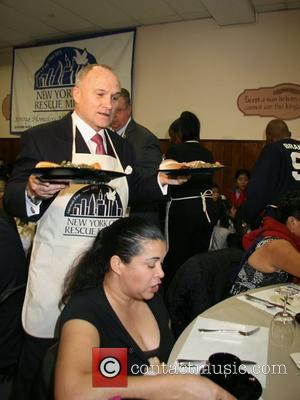 Raymond W. Kelly - Commissioner of the New York City Police Department New York City Rescue Mission Great Thanksgiving Banquet...
